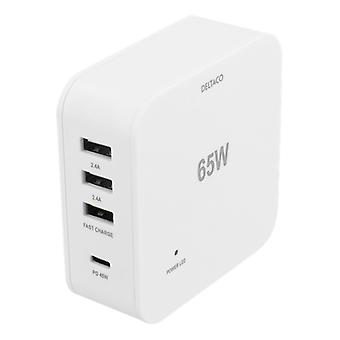 65W USB Charging Station