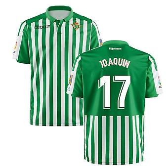 2019-2020 Real Betis Kappa Home Shirt (Joaquin 17)