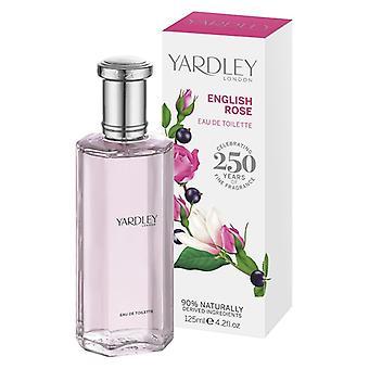 Yardley London Eau de Toilette - English Rose - elegant floral fragrance with rose water 125 ml