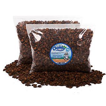2kg pupes séchées de ver à soie séchées de 2 kg