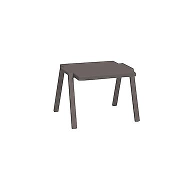 """22"""" X 18"""" X 16"""" Taupe Aluminum Side Table"""