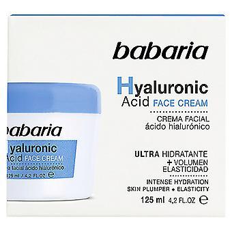 Cream with Hyaluronic Acid Babaria (125 ml)