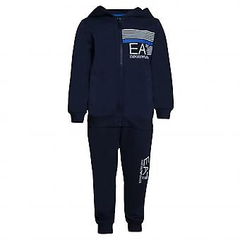 EA7 Boys EA7 Boy's Navy Blue Tracksuit