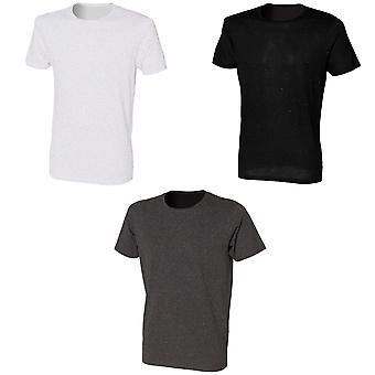 Skinni Fit Mens Fleck T-Shirt