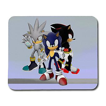 Sonic Shadow Silver Mouse Pad