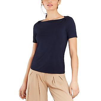 Brooks Brothers Femmes-apos;s Bateau-Neck Jersey Top