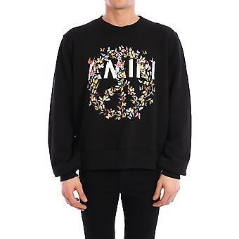 Amiri Y0m02356teblk Men's Black Cotton Sweatshirt