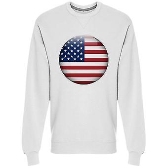 Button, Usa Sweatshirt Men's -Image by Shutterstock