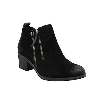 White Mountain Women's Shoes Sienna Leather Closed Toe Ankle Fashion Boots