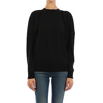Bottega Veneta 633132vkwi01000 Kvinder's Sort uld sweater
