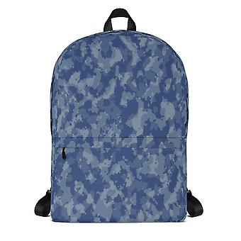 Backpack | blue camouflage