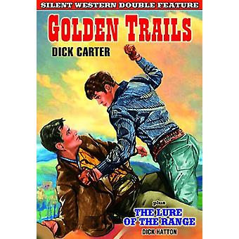Silent Western Double Feature: Golden Trails (1925 [DVD] USA Import