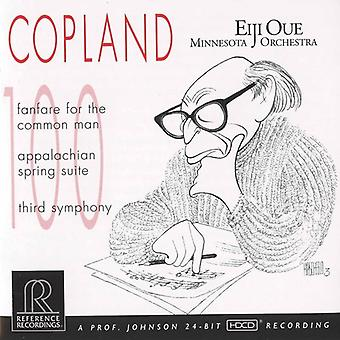 A. Copland - Copland: Fanfare for the Common Man; Appalachian Spring Suite; Third Symphony [CD] USA import