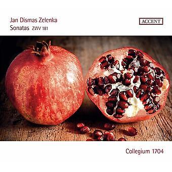 Zelenka / Collegium 1704 - Jan Dismas Zelenka: Sonater Zwv 181 [CD] USA import