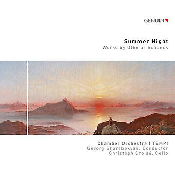 Schoeck / Croise / Gharabekyan - Summer Night [CD] USA import