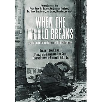 When the World Breaks [DVD] USA import