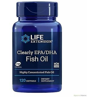 Life Extension Clearly EPA/DHA 120 Softgels