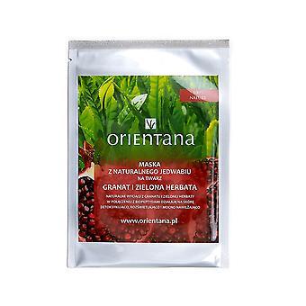 Silk Sheet Face Mask Biopeptides & Pomegranate & Green Tea