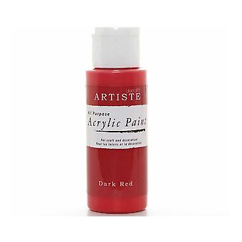 Donkerrode docrafts Artiste All Purpose Acryl Craft Paint - 59ml