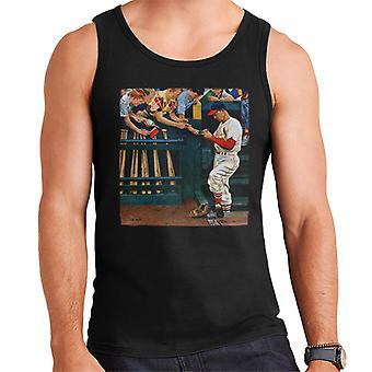 The Saturday Evening Post 1951 Baseball Cover Art Men's Vest