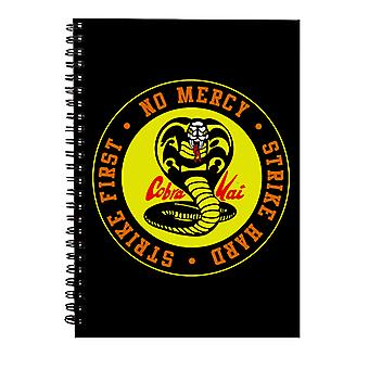 Cobra Kai Snake Logo No Mercy Spiral Notebook