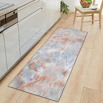 Nordic Anti-static Durable Kitchen Mat - Bedroom Entrance Doormat Home Hallway Floor Living Room Carpet Wood Grain Bathroom Anti Slip Rug