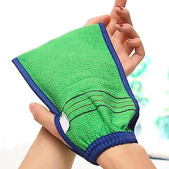Two Sided Bath Glove For Shower And Spa - Body Cleaning And Exfoliating