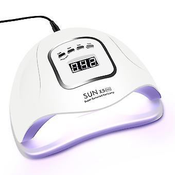 SUN5 Max Plus Manicure Pedicure Nail Lamp UV LED Gel Nail Dryer Cure Machine