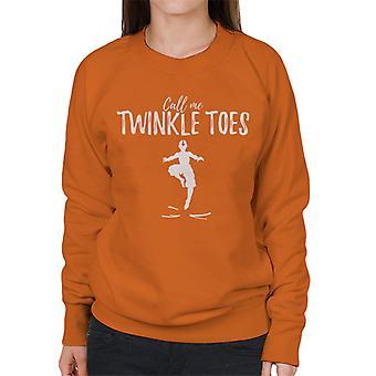 Call Me Twinkle Toes Avatar The Last Airbender Women's Sweatshirt