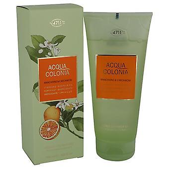 Gel de ducha de mandarina y cardamomo 4711 Acqua Colonia gel de ducha por Maurer & Wirtz 6.8 oz
