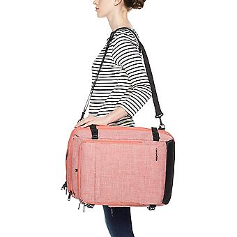 Basics Slim Carry On Laptop Travel Weekender, Salmon, Size Weekender