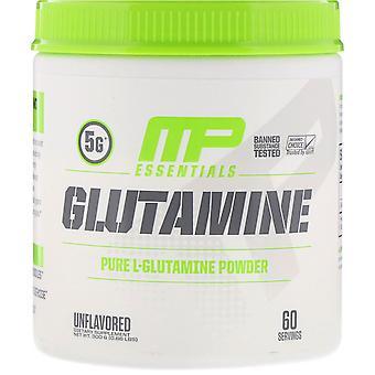MusclePharm, Essentials, Glutamine, Unflavored, 0.66 lb (300 g)