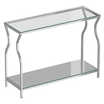 オリビア コンソール テーブル - シルバー