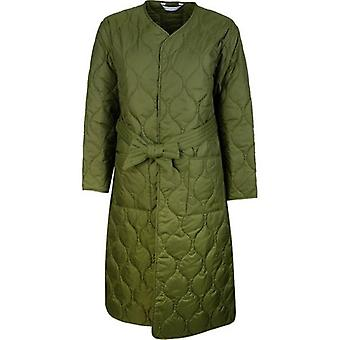 Barbour By Alexa Chung Martha Quilted Vintage Trench Coat