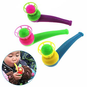 Funny Sports Kids Blowing Ball Toy - Fillers Pipe Ball Game