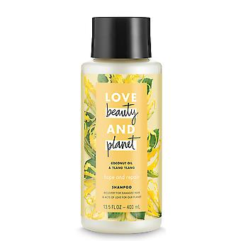 Love Beauty And Planet Shampoo Hope and Repair, Coconut Oil & Ylang Ylang, 400 ml