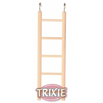 Trixie Wooden Ladder for budgies and canaries 5 rungs/24 Cm.
