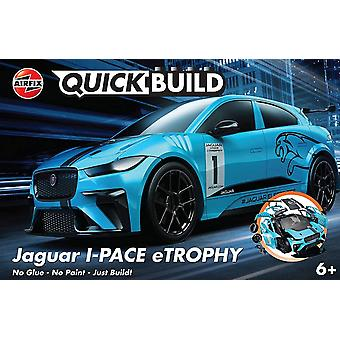 Airfix Quickbuild Jaguar I-Pace Etrophy