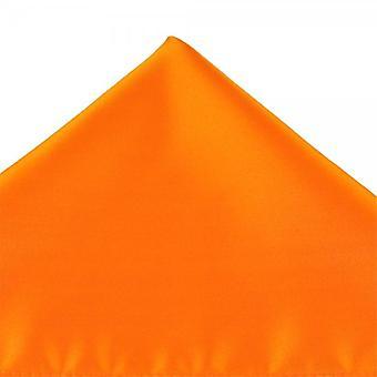 Legături Planet Plain Bright Orange Pocket Square Batistă