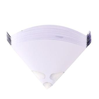 Paint Strainers With Fine 125 Micron Filter Tips - Premium  Nylon Mesh - Cone Filter Screen (white)
