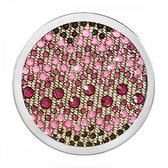 Nikki Lissoni Denim Dreams Sense Of Glamour Pink Medium Silver Coin C1454SM Nikki Lissoni Denim Dreams Sense Of Glamour Pink Medium Silver Coin C1454SM