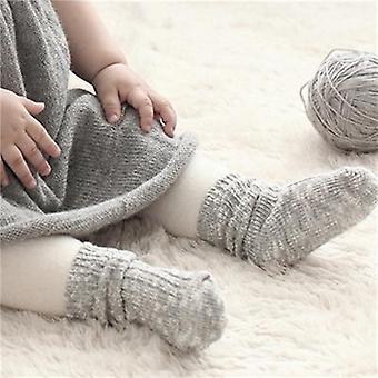 Ihana pehmeä vastasyntynyt taapero pikkulapsi lapset liukumaton sukat