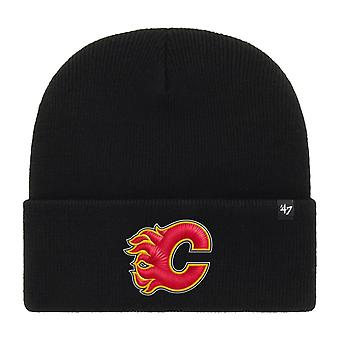47 Brand Beanie Winter Hat - HAYMAKER Calgary Flames