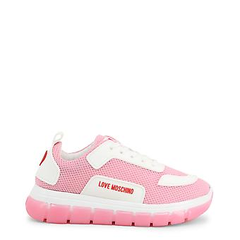 Amore moschino ja1515 donne's sneakers in tessuto sintetico
