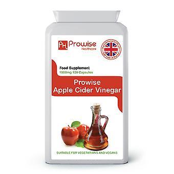 Premium Apple Cider Vinegar 500mg – 120 Capsules | Suitable For Vegetarians & Vegans | Made In UK