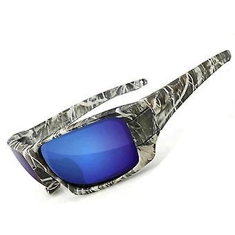 Ochelari de soare de pescuit, Polarized Uv Lens Camuflaj Frame, Barbati, Femei Sport Sun