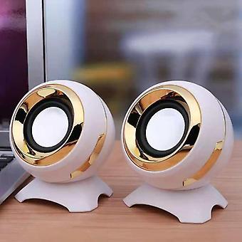 Mini Computer Speakers Bass Stereo Speaker For Laptop Desktop Phone