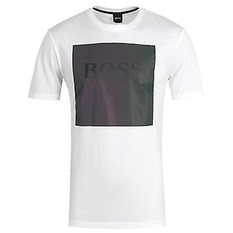 BOSS Tshine Reflective Effect White T-Shirt