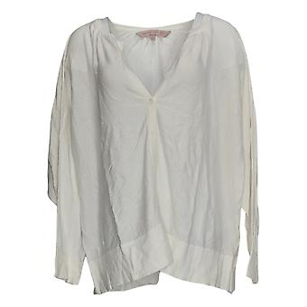 Laurie Felt Women's Sweater Button Front Cardigan Blanco A346739