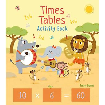 Times Tables Activity Book by Worms & Penny